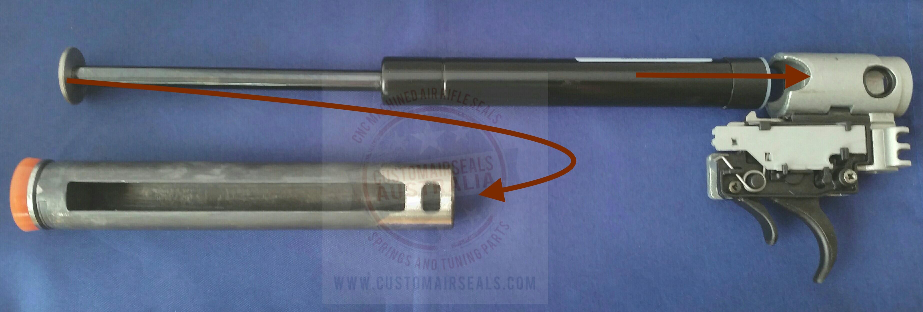 Gamo Ats Sat Trigger Gas Ram Kit Customairseals